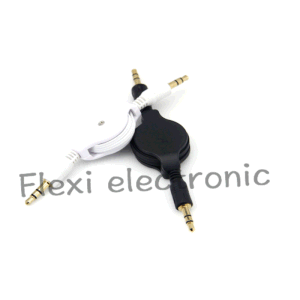 Retractable Audio Cable 3.5mm Aux Auxiliary Cable for Samsung Tab pictures & photos