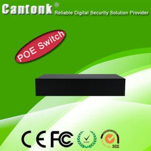 4 Port Metal Network Surveillance Poe Switch (CKPOE411) pictures & photos