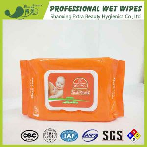 Alcohol Free Cleansing Baby Wipes OEM Wet Tissues pictures & photos