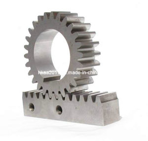 CNC Machined Small Steel Rack and Pinion Gears, Rack Gear pictures & photos