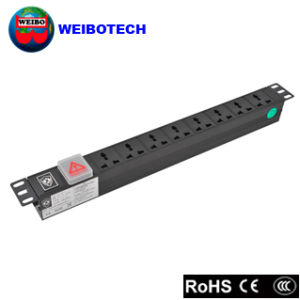 Professional PDU for Rack and Cabinet Multi Socket