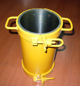 Steel 150*300 Cylinder Moulds for Concrete pictures & photos