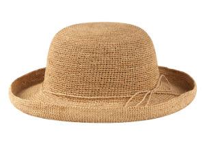 Raffia Crochet Hat W/Turn up Brim (NL 1034 Series)
