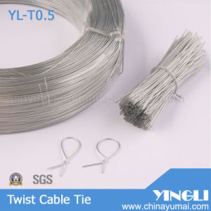 Clear Round Shape Twist Cable Tie (YL-T0.5) pictures & photos