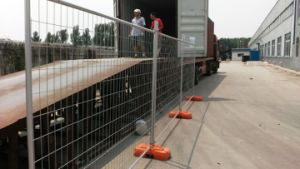 Hot Dipped Galvanized 42 Microns Comply with As4687 Temporary Steel Fence pictures & photos