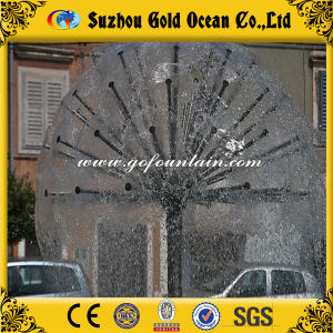 Stainless Steel Water Features Crystal Ball Fountain
