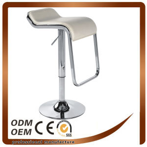 PVC Bar Stool with Metal Base (YOC-9270) pictures & photos