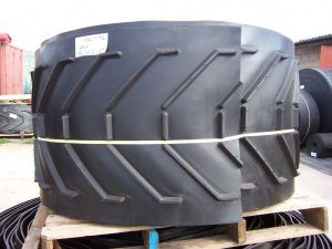 Chevron Conveyor Belt, V Belt, V-Shaped Conveyor Belt pictures & photos