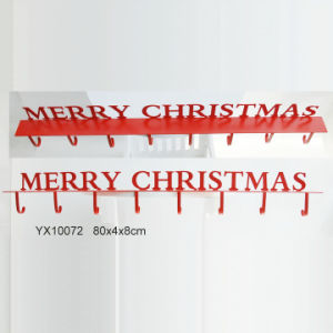 Hot New Metal Christmas Stocking Holder for Home Decoration pictures & photos