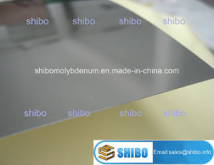 99.97% Cold Rolled Molybdenum Sheets pictures & photos