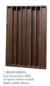 Modern 3D Interior Solid Carved Wood Wall Panel (600*600)