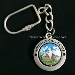 Customized Zinc Alloy Spinning Keychain pictures & photos