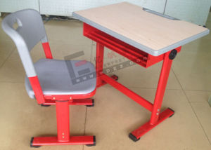 School Furniture Adjustable Desk and Chair for Student (SF-33A) pictures & photos