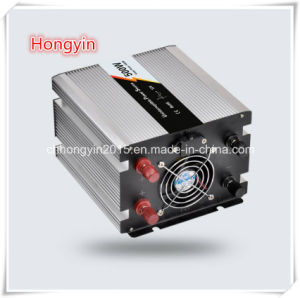 24V 500W Power Inverter DC to AC Pure Sine Wave Inverter with Charger pictures & photos