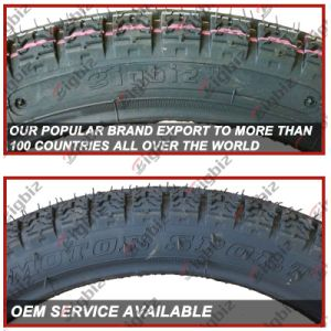 Top Quality 3.00-18 Tubeless Motorcycle Tire and Tube for Africa pictures & photos