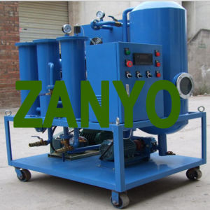 Zyt Coalescing Vacuum Turbine Oil Purifier & Recycler pictures & photos