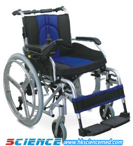 Foldable Aluminum Power Wheelchair (SC-EW08 (2)) pictures & photos