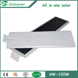 Automatically by Charge Controller Remote Solar Street Light pictures & photos