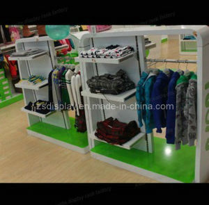 Display Stand/Wall Shelf for Kids′ Clothes (ZS-131)