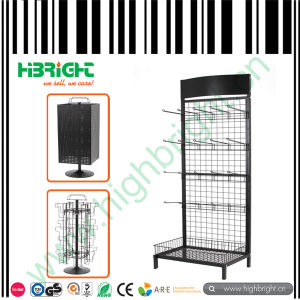 Wire Mesh Display Rack Store Display Stand pictures & photos