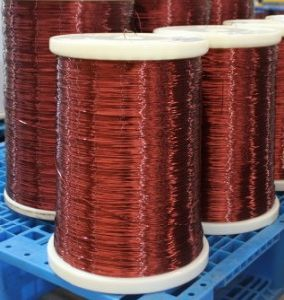 Polyester-Imide Seies Enameled Copper Wire pictures & photos