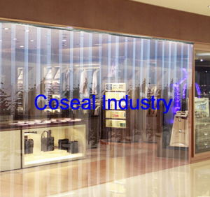 Super Clear Light Blue PVC Strip Curtains pictures & photos