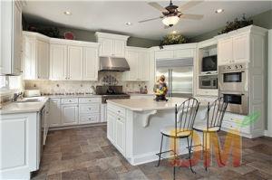 Modern Design White Solid Wood Kitchen Cabinet