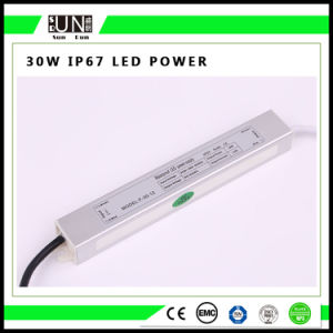 30W Constant Voltage IP65 IP67 LED Power Supply, 12V Waterproof LED Power Supply, Waterproof Power Supply, Waterproof LED Driver pictures & photos