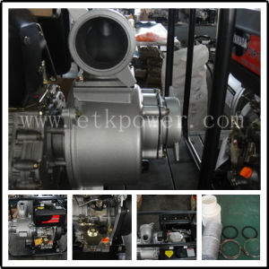 Electric Power Portable Diesel Water Pump (DWP100) pictures & photos