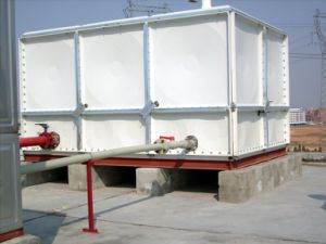 GRP Storage Tank with ISO Certification/GRP Panel Tank