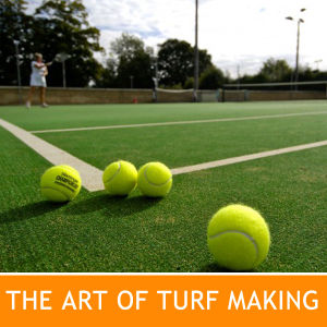 Tennis Court Grass with 7 Years Warranty