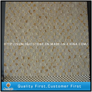 Natural Stone Mosaic / Marble Mosaic Floor Tiles / Beige Marble Mosaic pictures & photos