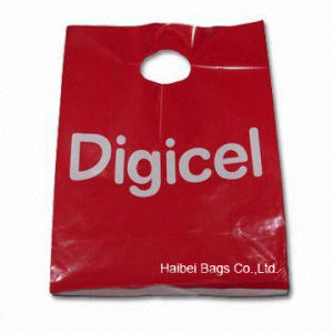 Customize Your Plastic Shopping Carrier Bag with MOQ 5000 (HBPE-1) pictures & photos