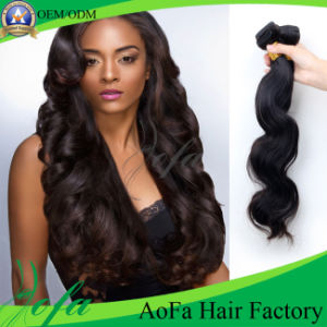 Loose Wave Human Hair Unprocessed Brazilian Human Virgin Hair pictures & photos