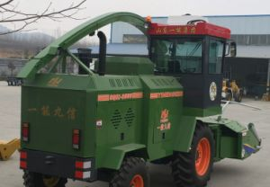 9qsz-3000 Green (yellow) Forage Harvester Yineng Flail Type Forage Harvester pictures & photos