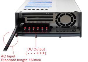 Rainproof 300W 12V AC/DC LED Driver for Signage with Ce, Bis pictures & photos