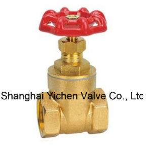 Manufacture Brass Gate Valve with Prices (Z15T) pictures & photos