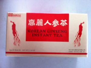 Ginseng Instant Tea (granule) 2g X 30 Sachets pictures & photos