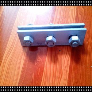Pressting Steel Cable Clamp with Three Bolt&Nut&Washer for Electric pictures & photos