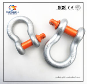 G80 Forged Part Alloy Steel Screw Pin Shackle pictures & photos