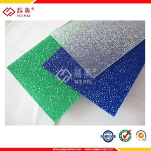 Colorful Polycarbonate Embossed Sheet with UV Protection pictures & photos