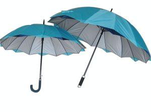 Double Jagged Canopy EVA Handle Golf Umbrella (GU025) pictures & photos