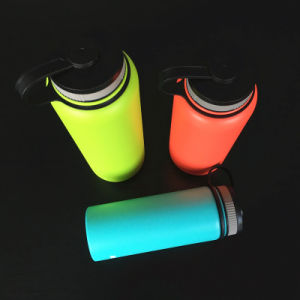 Whole Bottle in 18/8 Stainless Steel Double Wall Thermos Vaucum Water Flask (SH-ST23) pictures & photos