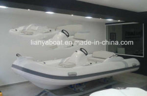 Liya 4.3m Speedboat Fiberglass Hull Self Inflating Boat Sale Czech Republic pictures & photos