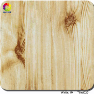 Tsautop 1m Tswd18-10 Streight Wood Pattern Water Dissolving Paper/Transfer Printing Film pictures & photos