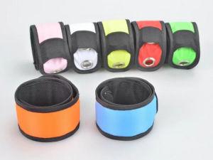 Custom Logo LED Silicone Slap Bracelet
