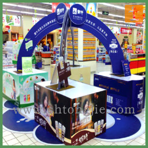 Factory Price Customed Fabric Desk Counter for Promotion (TJ-0035) pictures & photos