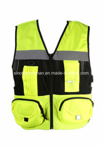 Multi-Pocket Vest High Quality Work Vest pictures & photos