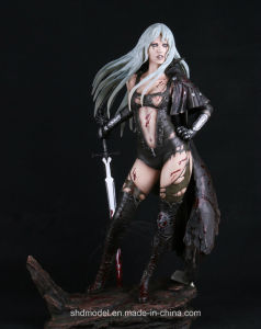 Resin Action Figure with Base (OEM) pictures & photos