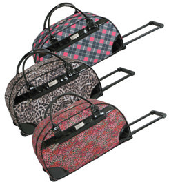2017 Fashion Trolley Bag with Different Pattern Printing pictures & photos